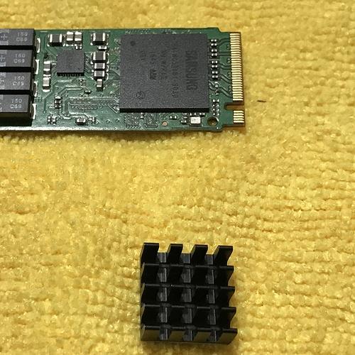 3 NVME Controller Heatsink