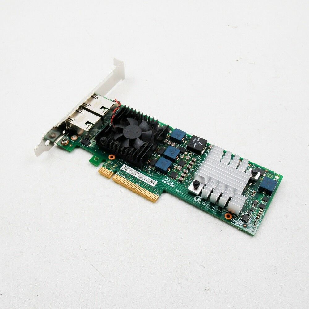 Intel X520-T2 - Dual 10GbE Base-T (Ethernet) PCI-E adapter